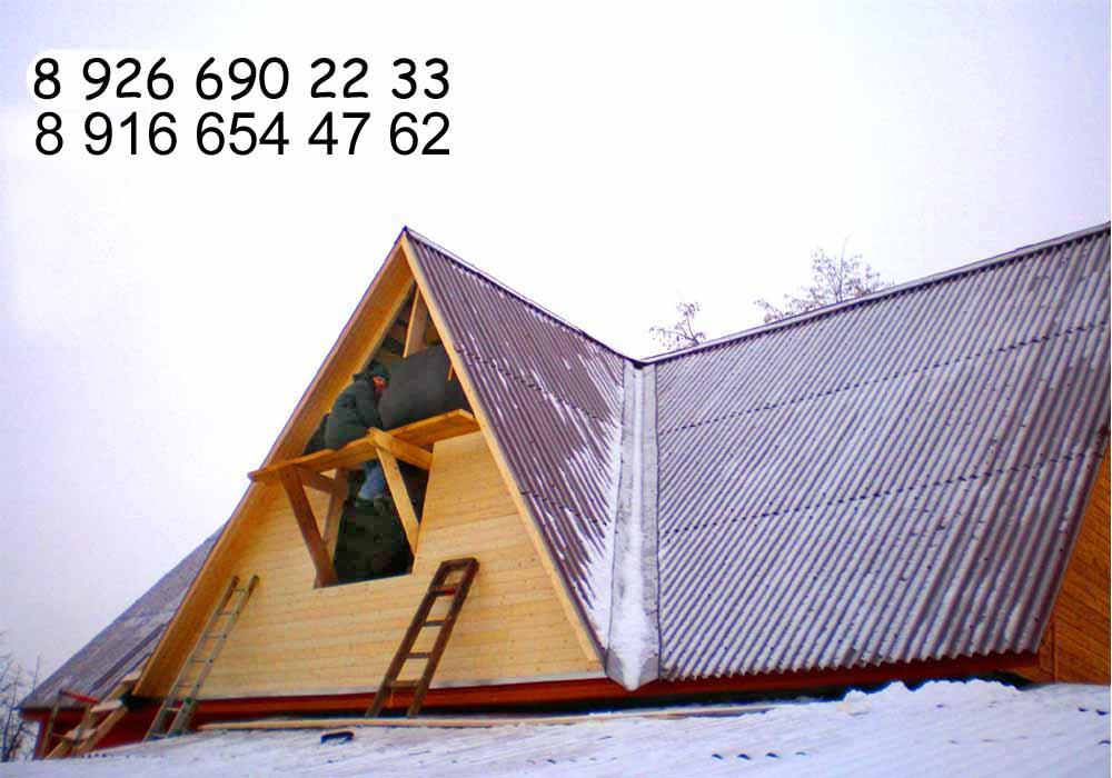 Как сделать второй этаж дома на крыше