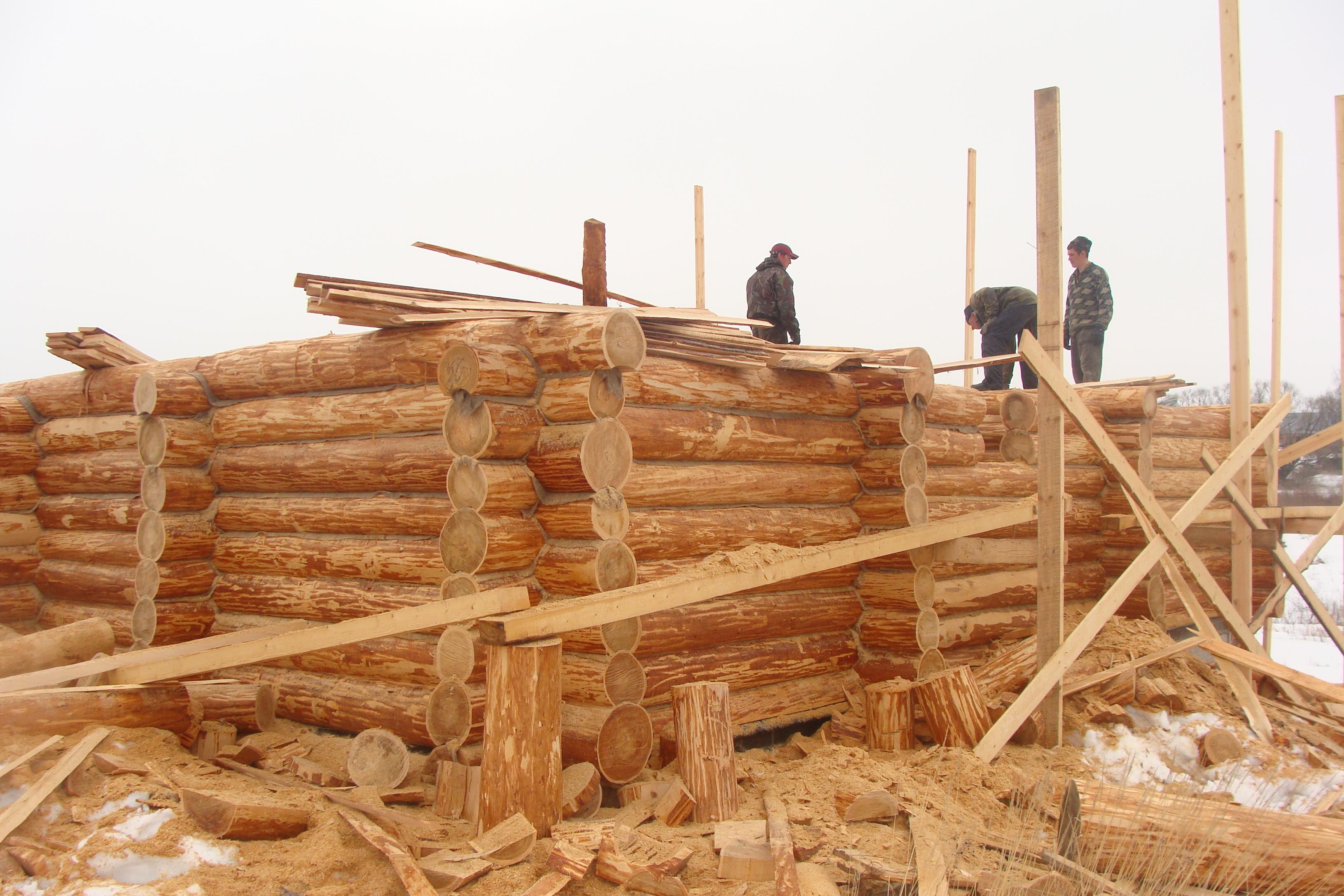 Инструкция как построить деревянный дом своими руками 32